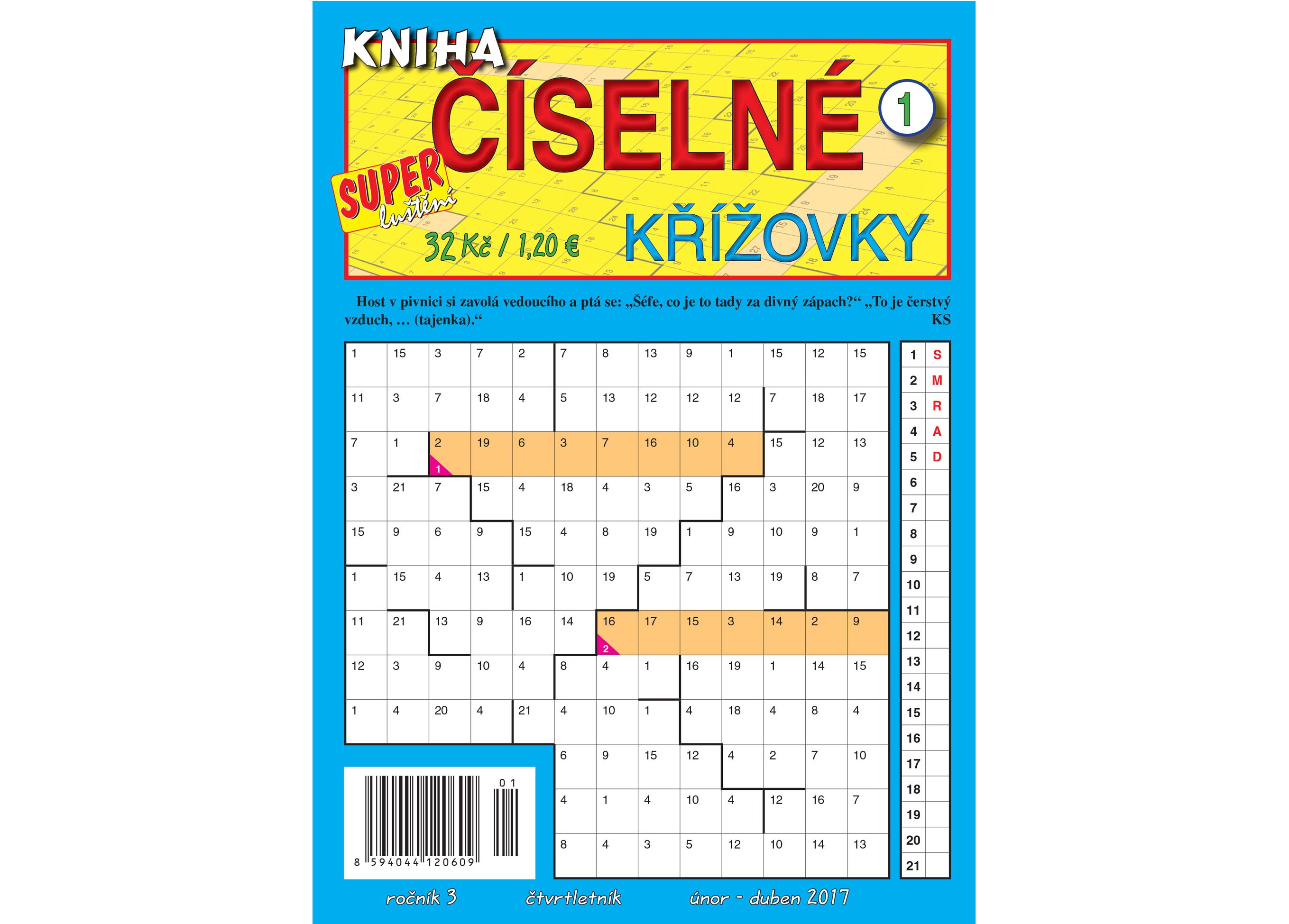 Kniha íselné kížovky 0117_obálka.indd
