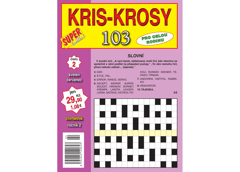 103 kris-krosy 0217_obálka.indd