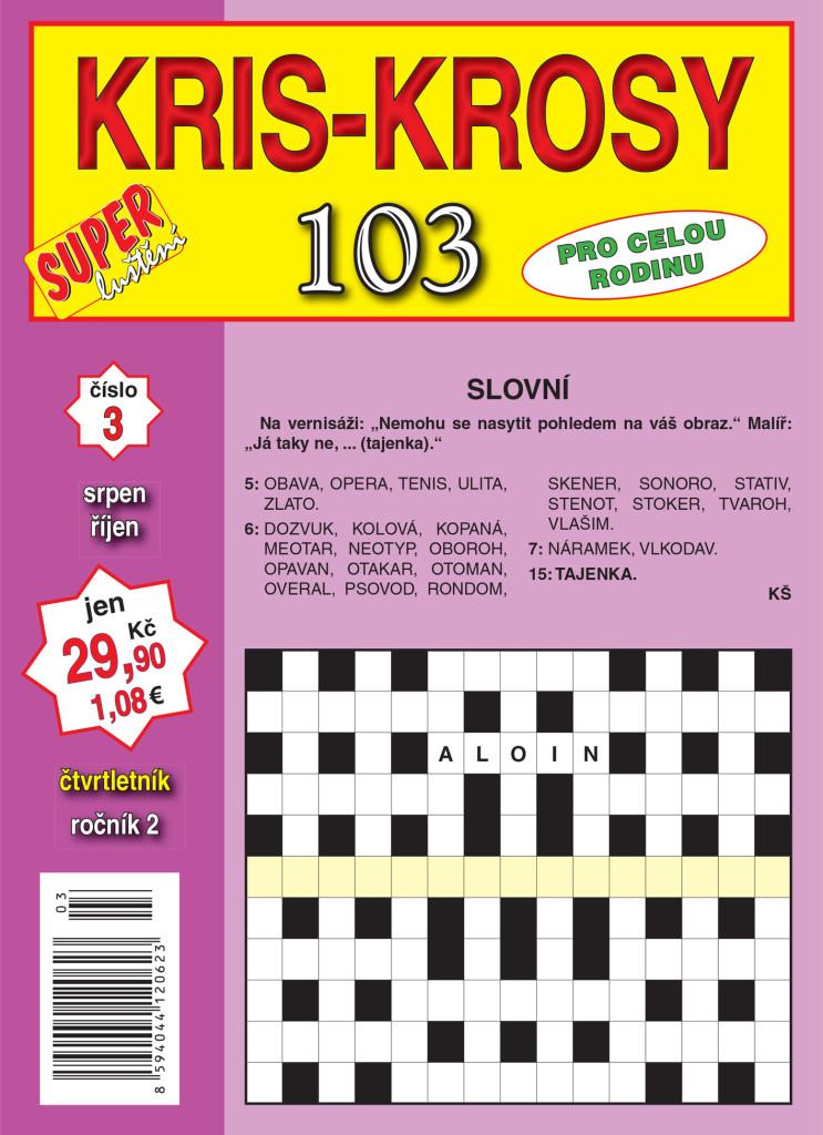 103 kris-krosy 0317_obálka.indd