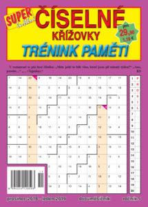Číselné křížovky - trénink paměti