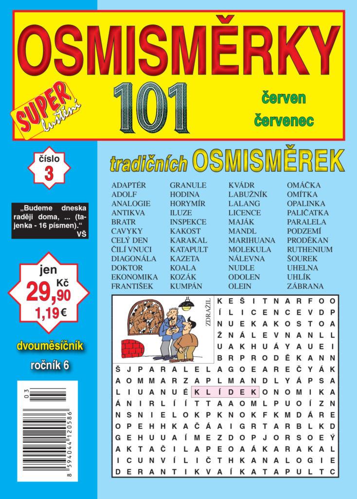 101 osmisměrky vydavatelství Turpress.