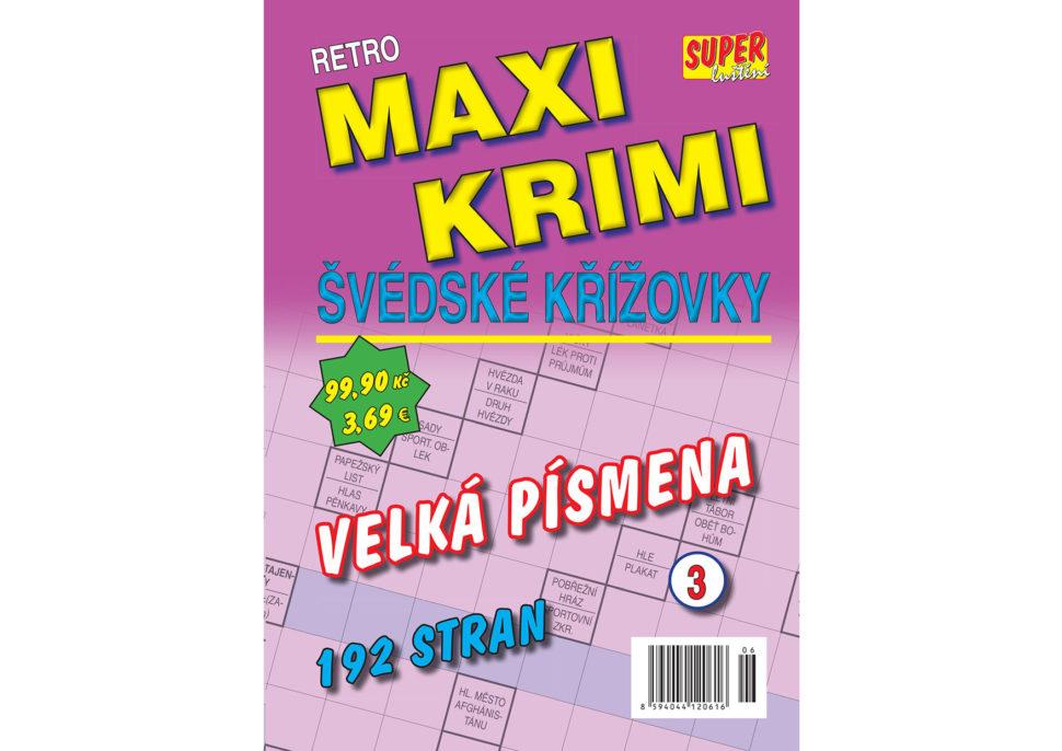 Retro maxi krimi švédské křížovky