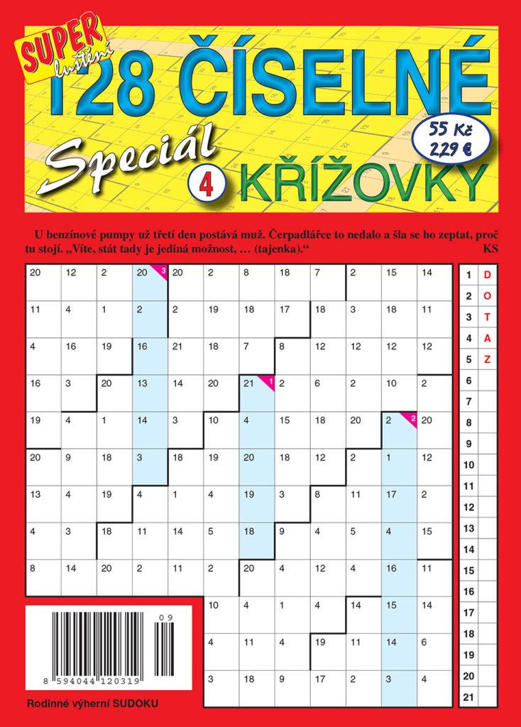 Číselné křížovky speciál