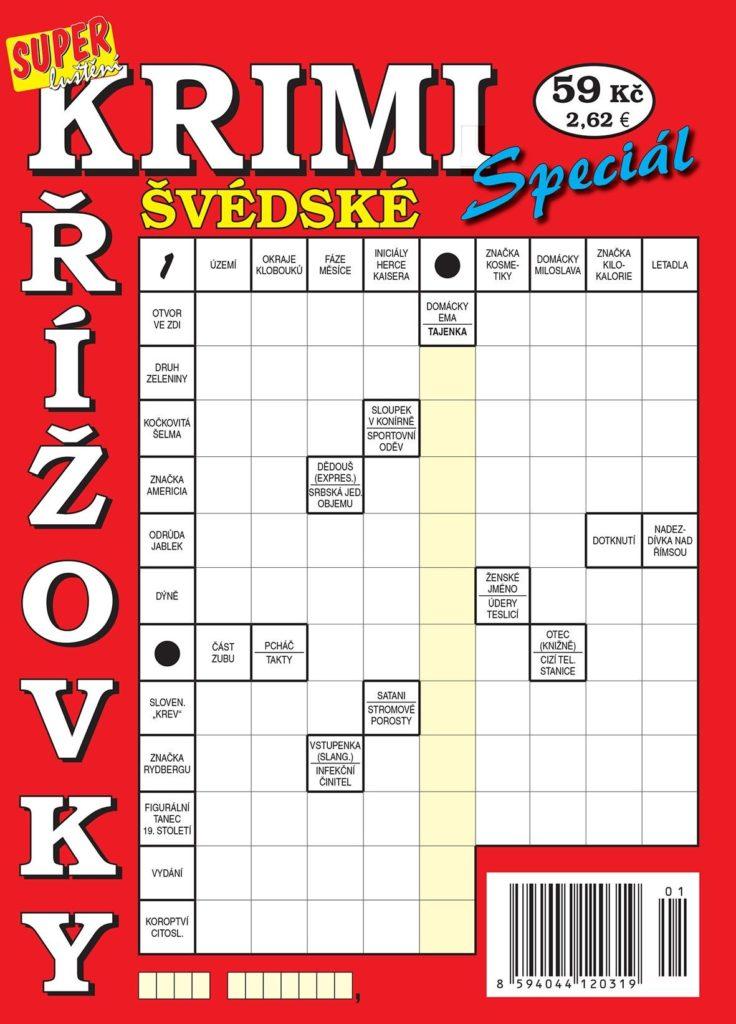 Krimi švédské křížovky speciál