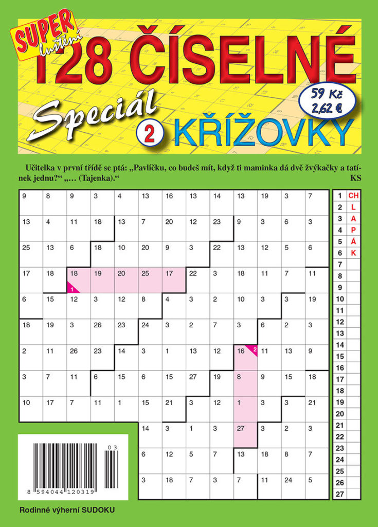 128 Číselné křížovky