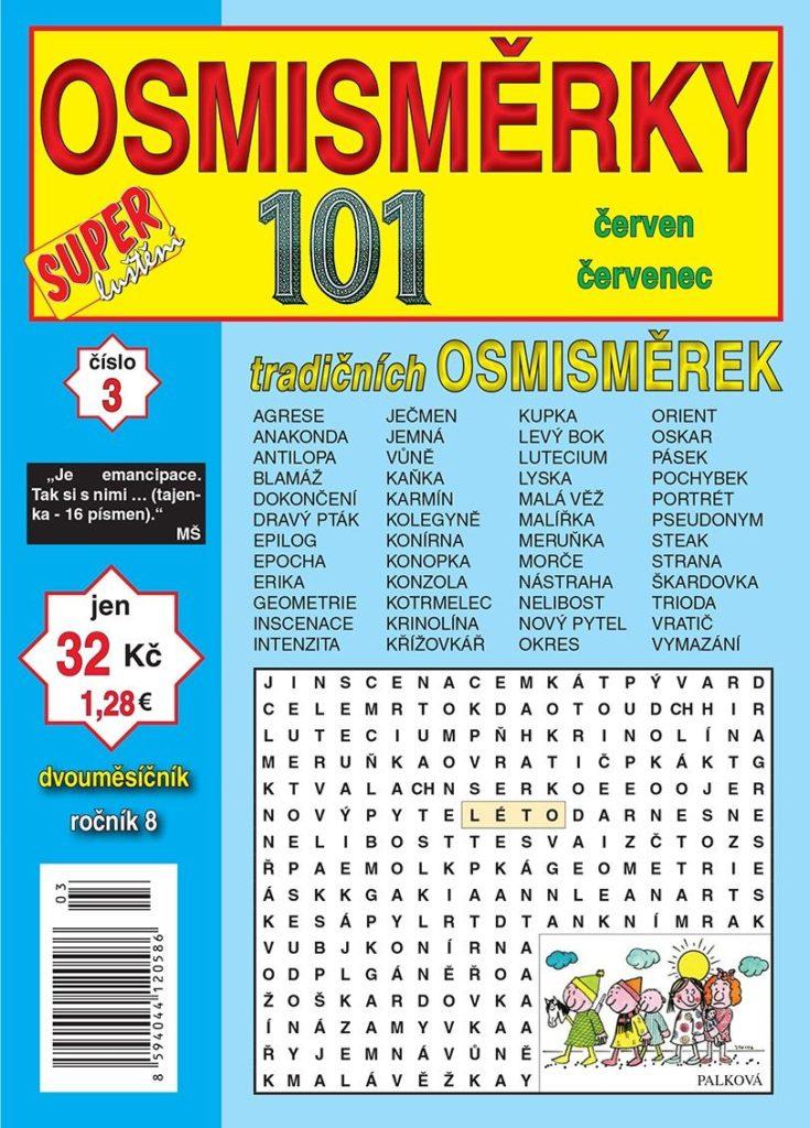 101 Osmisměrky