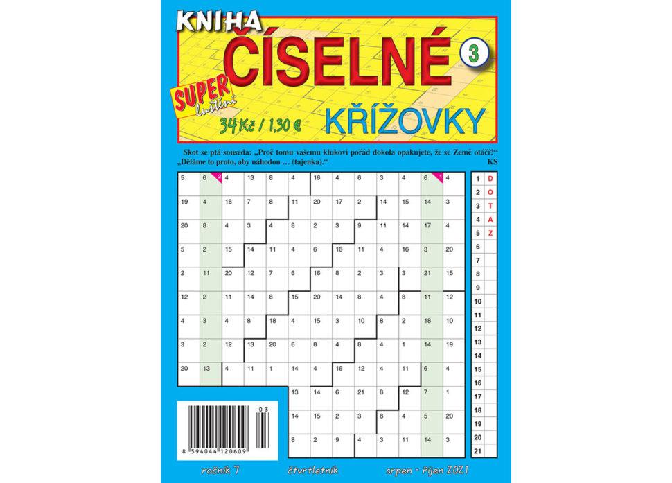 Kniha číselné křížovky