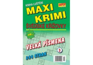 Maxi krimi švédské křížovky