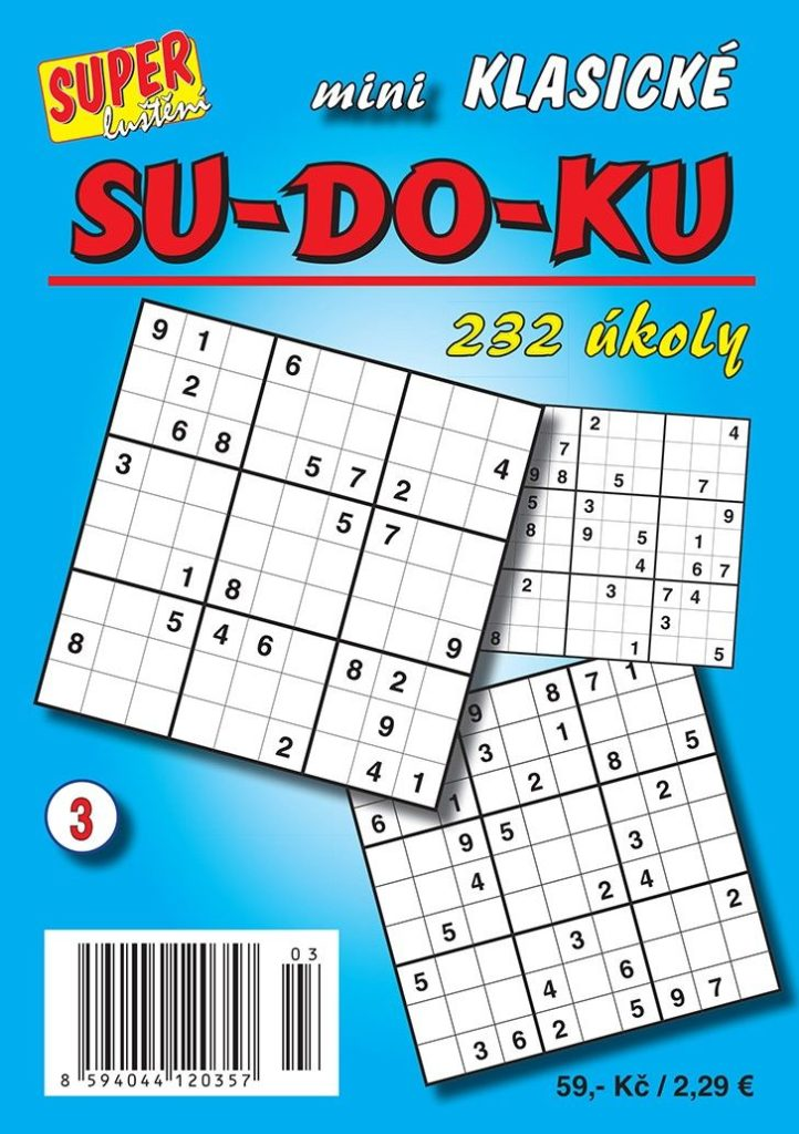 Mini sudoku klasické